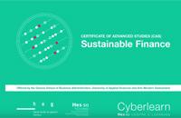 Premier CAS en finance durable en ligne